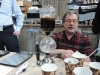 Kaffeezubereitung im Syphon