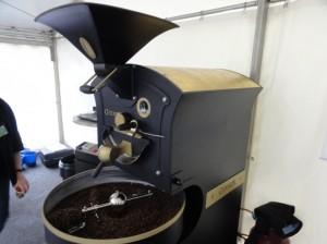 Kaffeeröster Giesen W6 auf der coffeena 2011